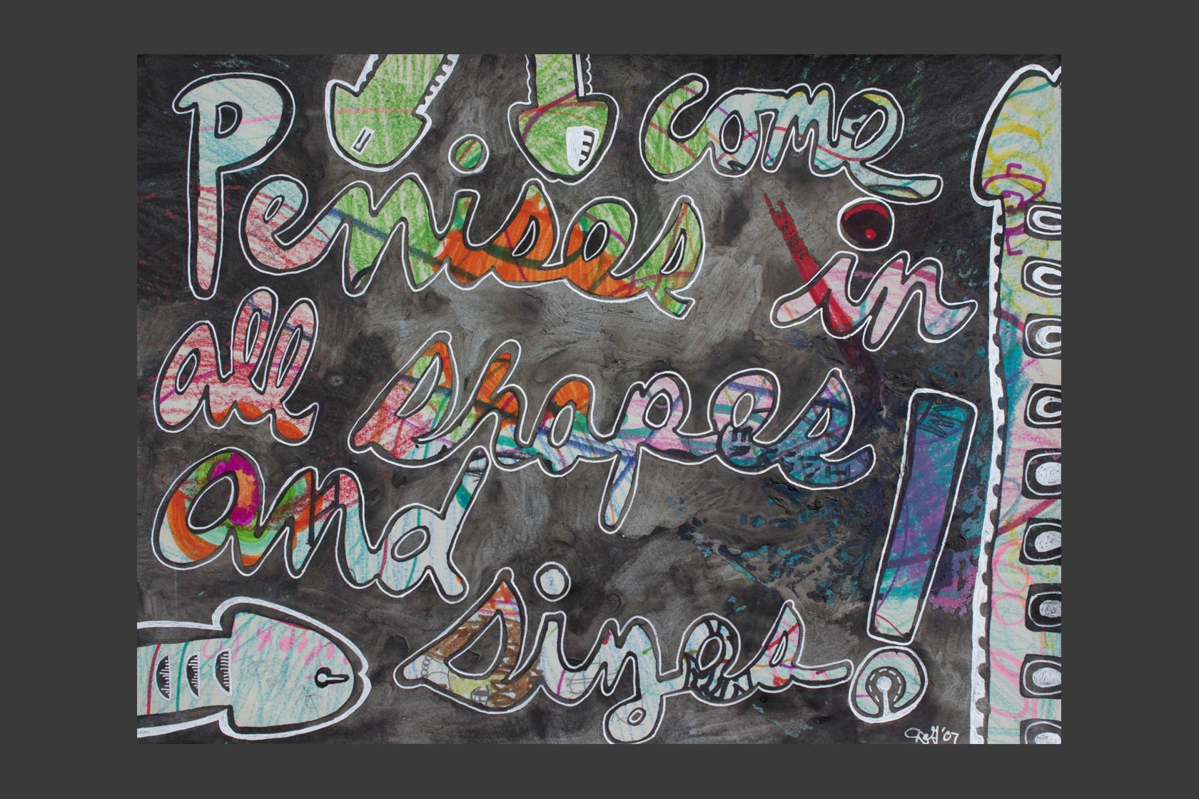 Puberty & You, Envelope Show Gallery Pink Espace 2003