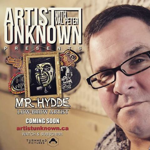 Artist Unknown with Val Peter presents Mr. Hydde