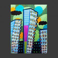 Big-City-11x14-acrylic-on-canvas-2016