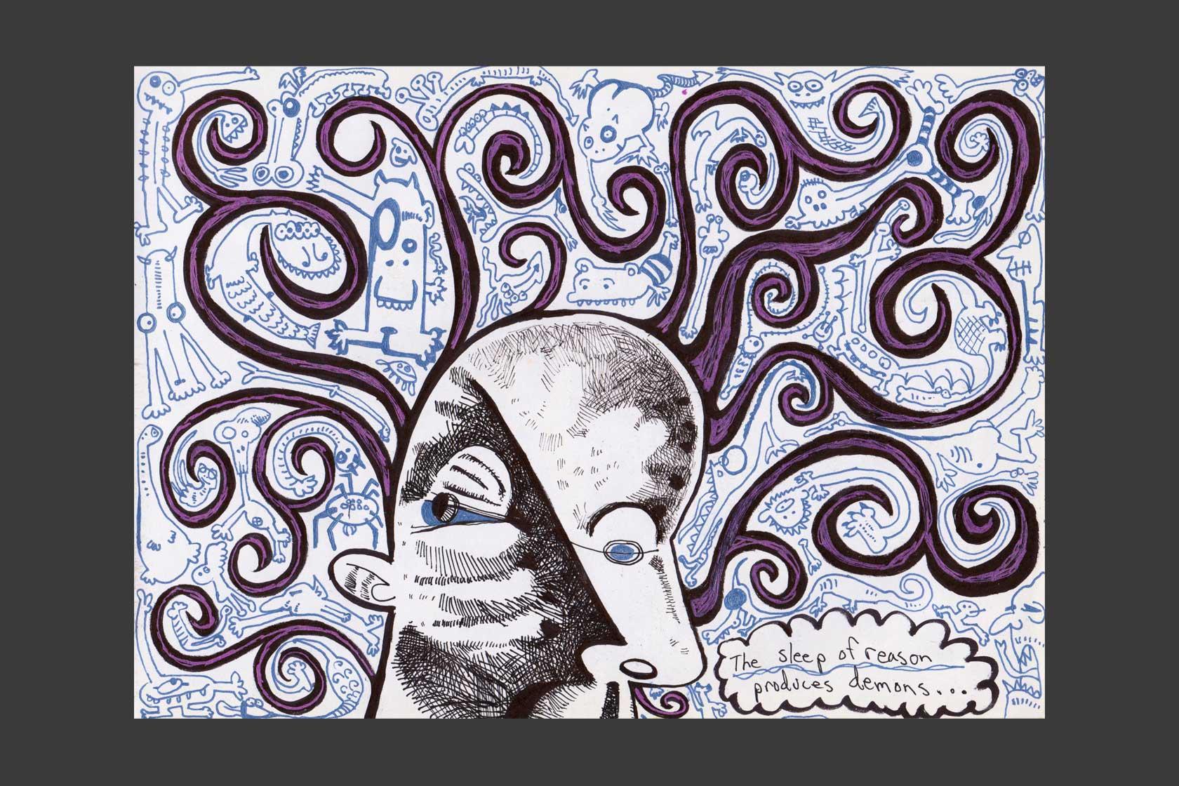 Esoteric Noise: Digital Printwork (2016)