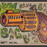 Bang Bang / acrylic on canvas / 16 x 20 in / Mr. Hydde