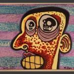 Dead Eyes / acrylic on canvas / 16 x 20 in / Mr. Hydde