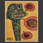 Good Advice / acrylic on canvas / 16 x 20 in / Mr. Hydde