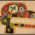 Munkey / acrylic on canvas / 24 x 36 in / Mr. Hydde