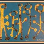 Peepul / acrylic on canvas / 16 x 20 in / Mr. Hydde