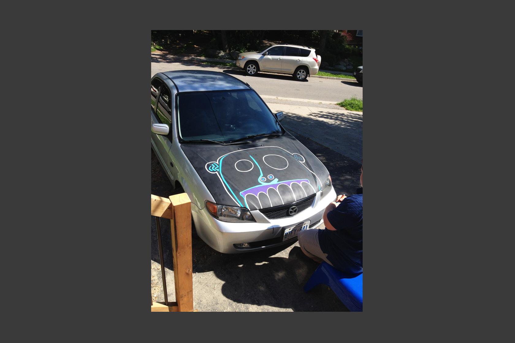 Car Mural