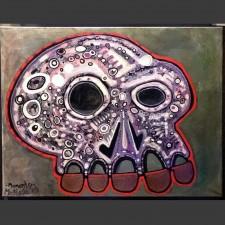 Momento / acrylic on canvas / 16 x 20 in / Mr. Hydde