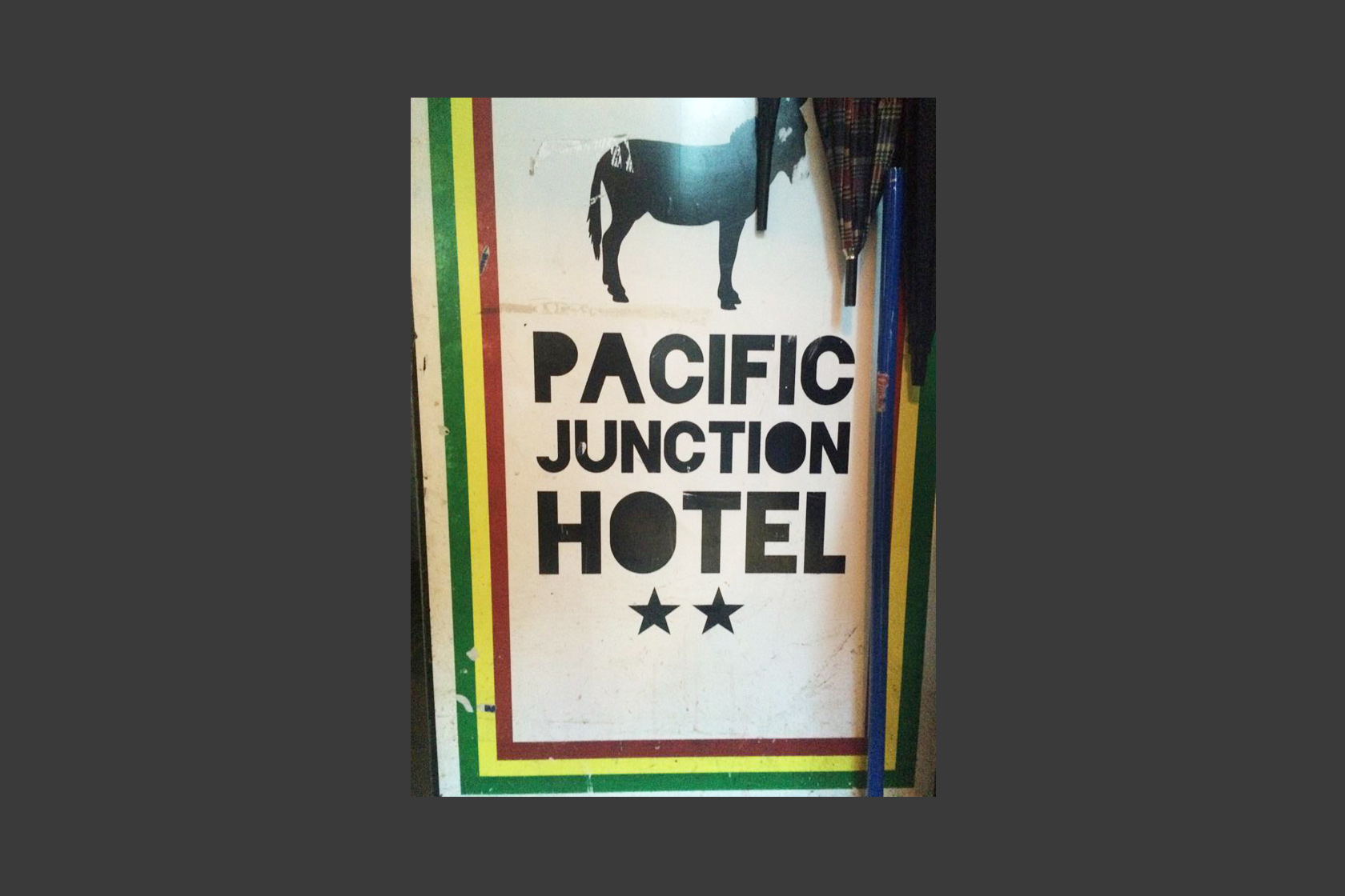 Live Painting Performance, Pacific Junction Hotel, June 6 2015