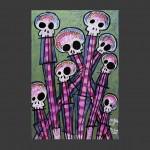 Pop Your Corn / acrylic on canvas / 24 x 36 in / Mr. Hydde